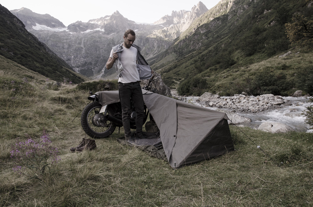A Bivouac For Minimalist Motorcycle Tours & A Bivouac For Minimalist Motorcycle Tours | GearJunkie