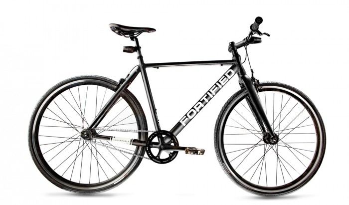 fortified theft resistant bike