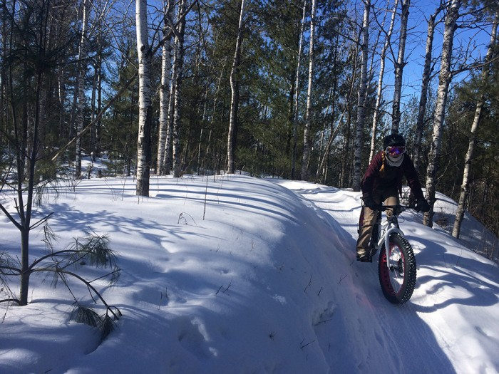 groomed fat biking