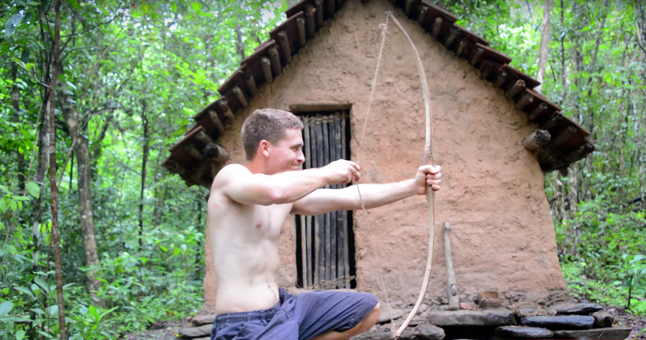 How To Build Entirely Natural Bow Amp Arrow Gearjunkie