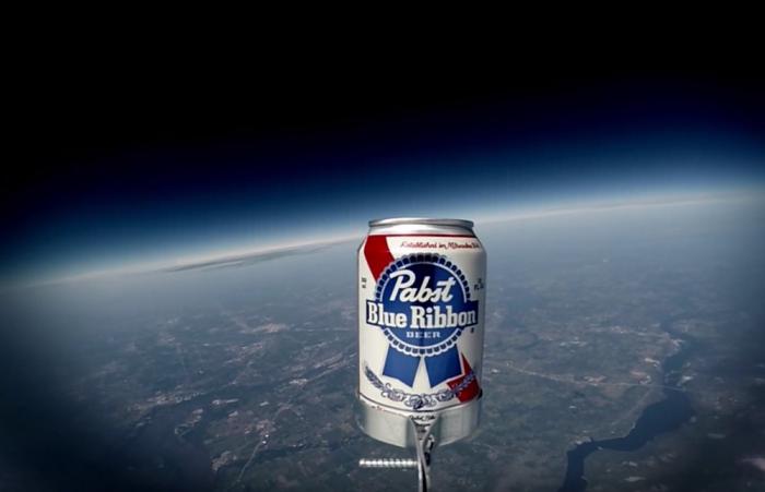 stratosbeer beer in space wow
