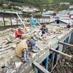 Namche Bazaar rebuilding effort