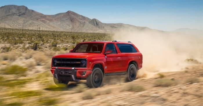 New Hybrid Ford Bronco