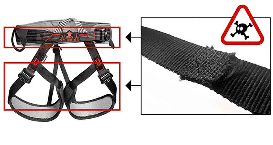 Petzl-ASPIR-harnesses-modified-unsafe