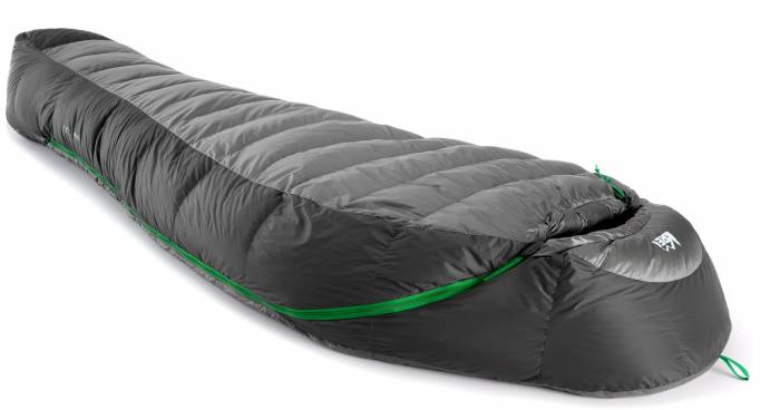 down or synthetic sleeping bag