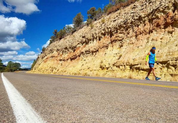 Adam Kimble Running Across USA GearJunkie Mobile Office 1.2