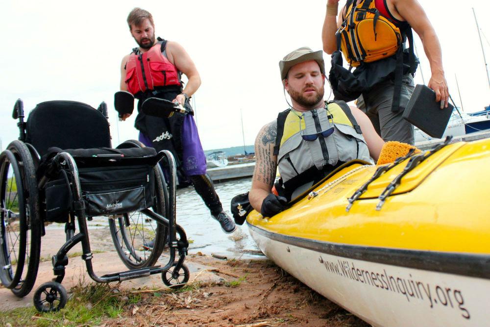 kayak wheelchair