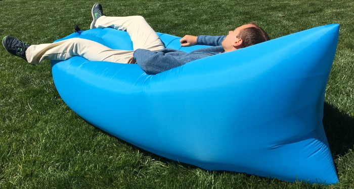 No Trees Problem With Inflatable Hammock
