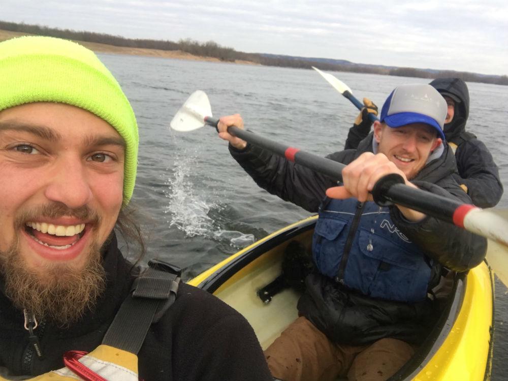 kayaks smile