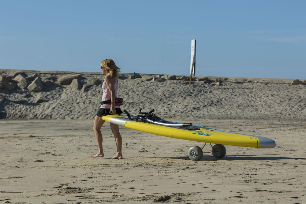 pedal board beach