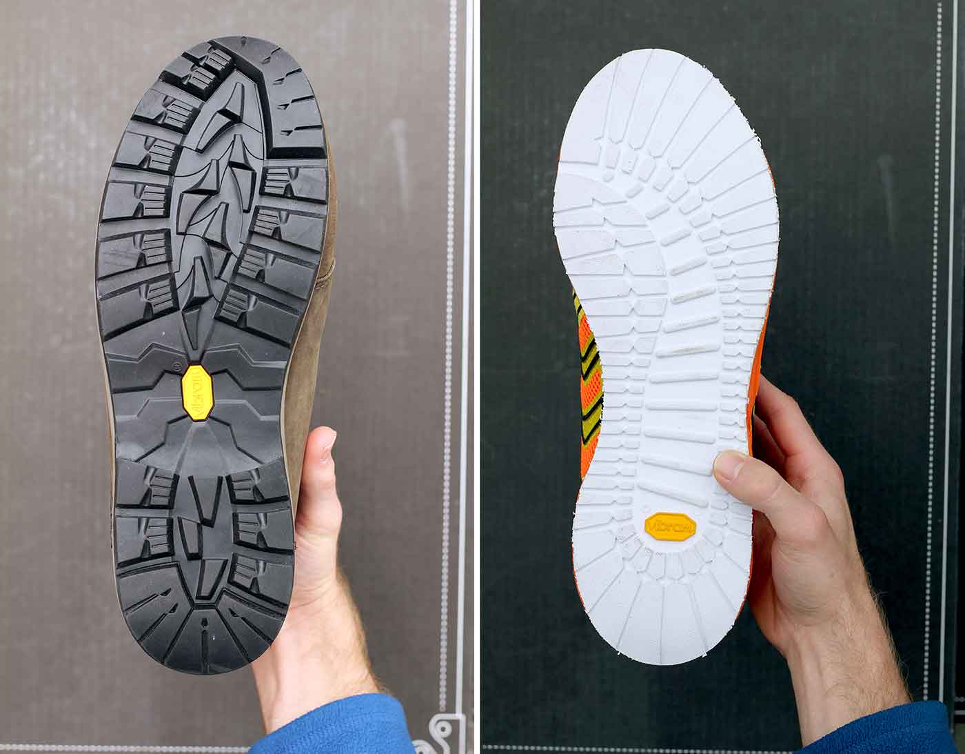 fresh tread new vibram service re soles worn shoes