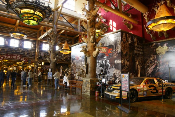Nearby Bass Pro Shops