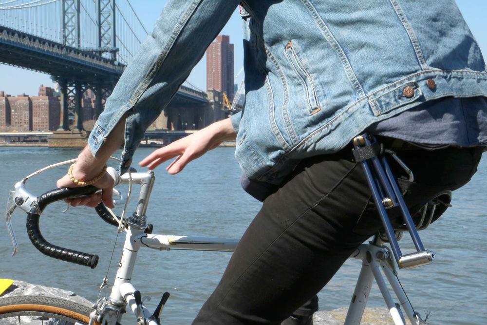 new bike security folding 39 altor 39 titanium lock. Black Bedroom Furniture Sets. Home Design Ideas