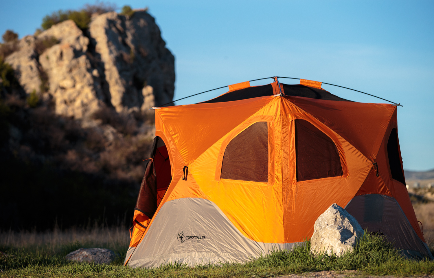 First Look: Gazelle Pop-Up Tent Is Family-Size Palace | GearJunkie