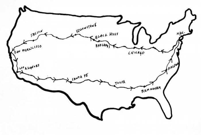 bike the usa route map