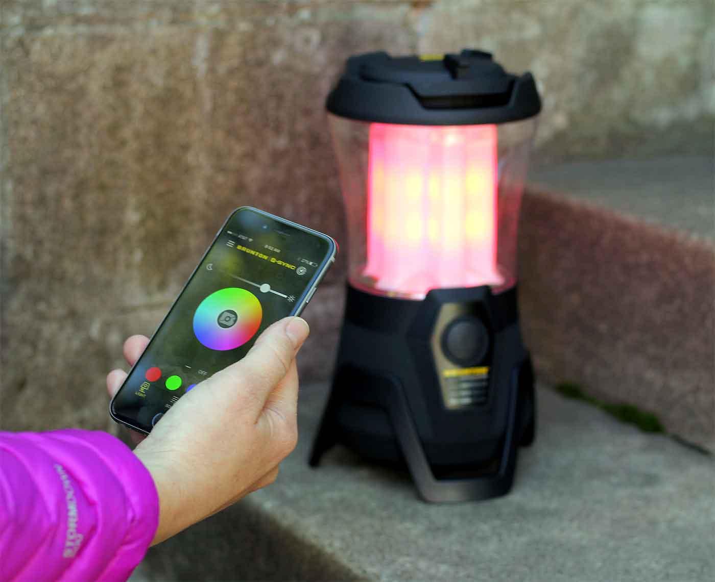 Brunton camping lantern