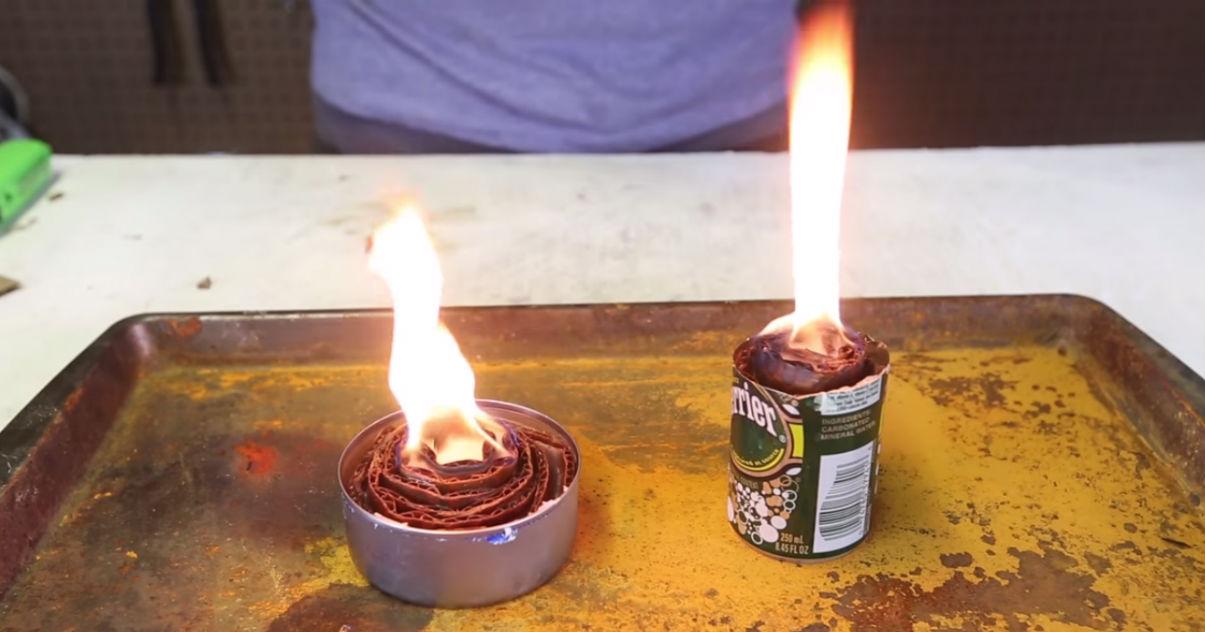Camping Hack Buddy Burner Diy Stove Gearjunkie