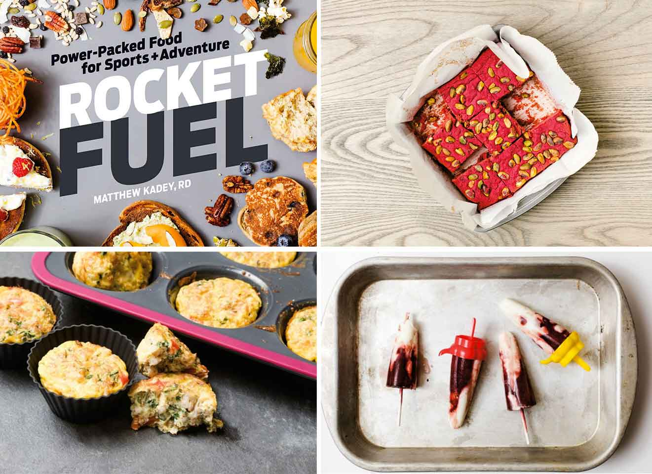 cook book for athletes
