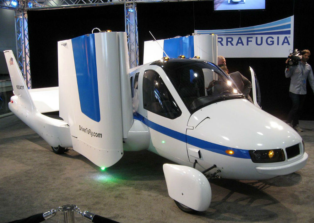 The Terrafugia flying car was funded through equity crowdfunding site Wefunder