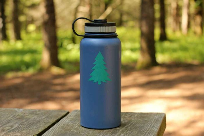 Make your water bottle stand out with a Gear Aid decal patch