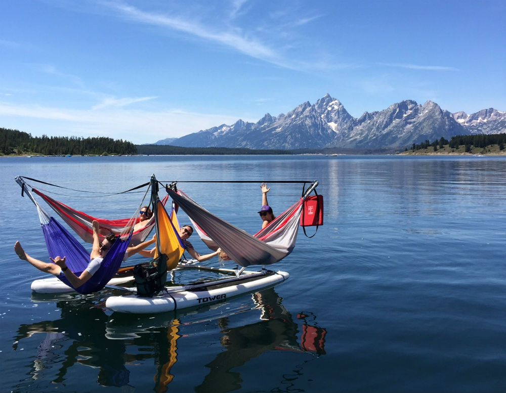 hammocraft water hammock 2 5 hammocks so bizarre they u0027re awesome  rh   gearjunkie