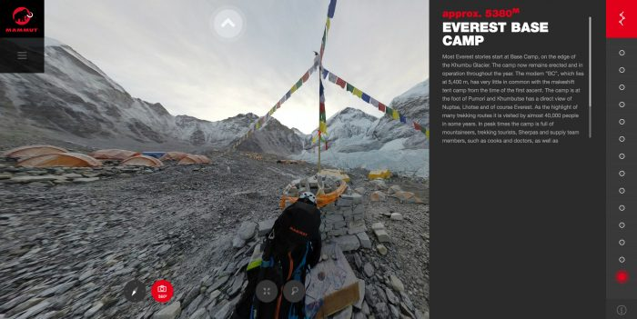 mount everest 360 degrees vr