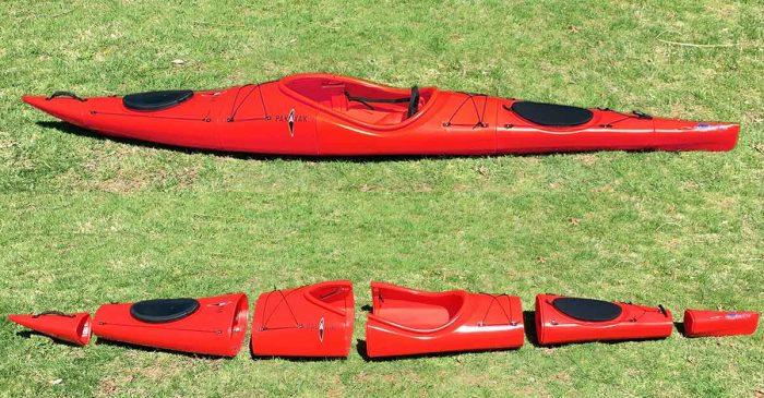 nesting kayak