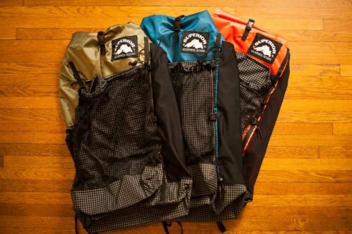 superior wilderness backpacks