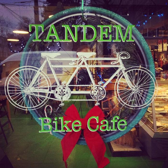 tandem bike cafe 2