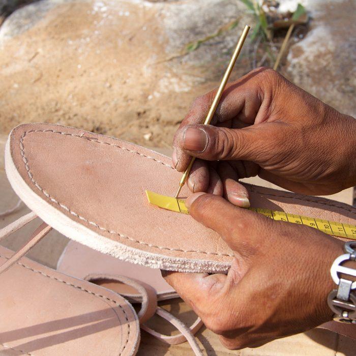 virbrobarefoot sandal
