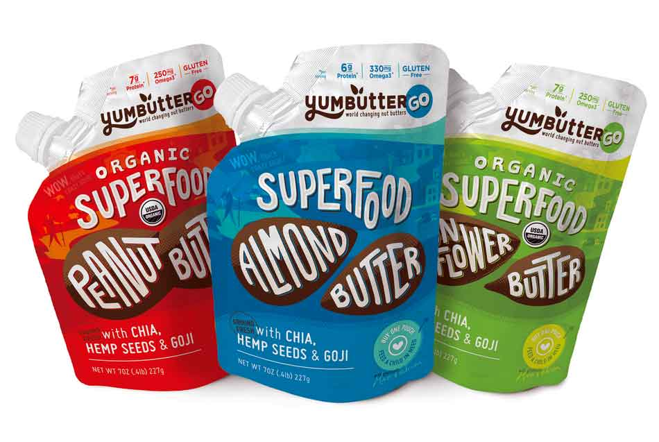 yumbutter food packets