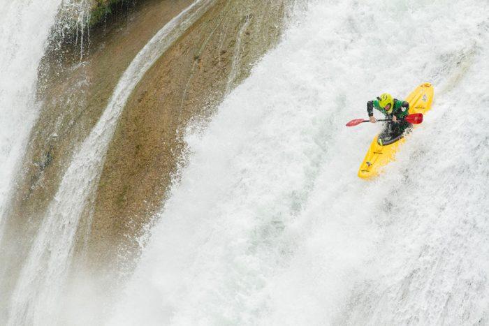 Waterfall in Chiapas, Mexico; photo by Marcos Ferro