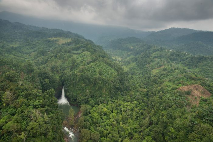 Secluded waterfalls require hike-ins