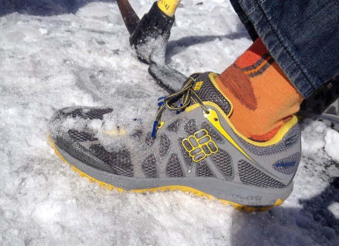 Conspiracy Titanium Outdry Trail Shoe-1-2