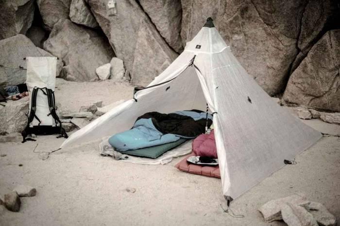 Dyneema Composite Fabrics tent