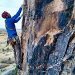 Photo by Climber in Photo, Founder John McDonough of First Ascent Mountain School