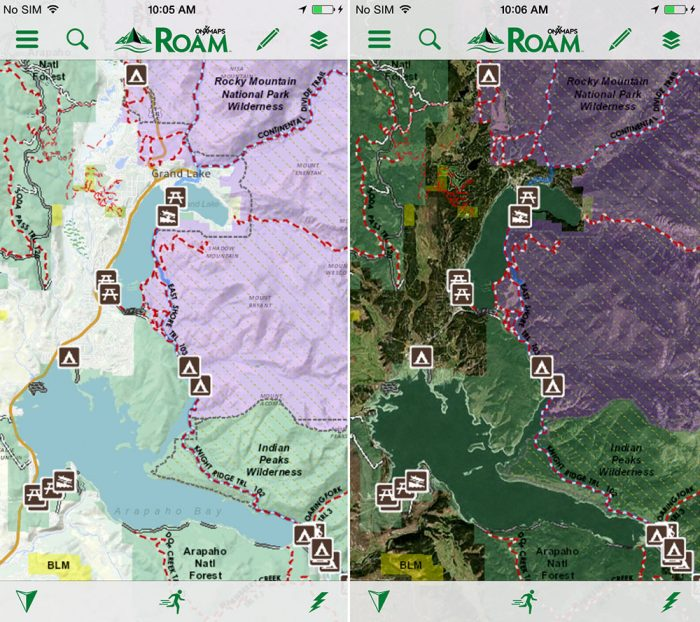 OnXmaps ROAM App base layer