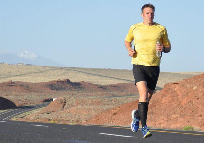 Robert Young running