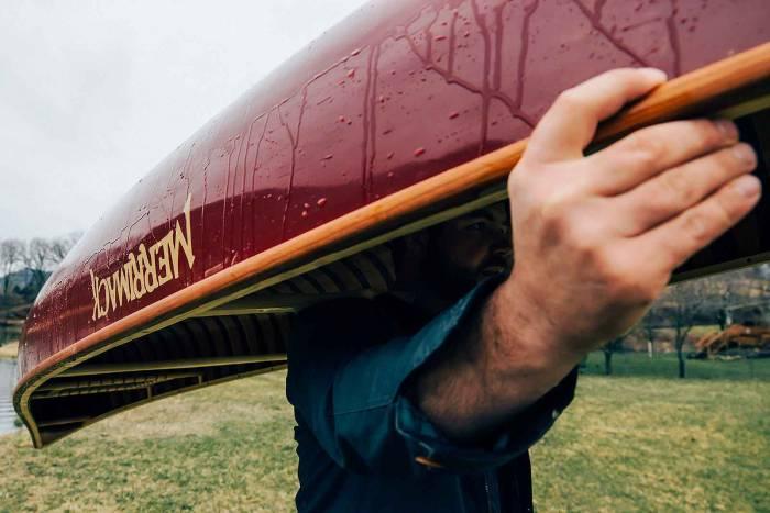 canoe overhead