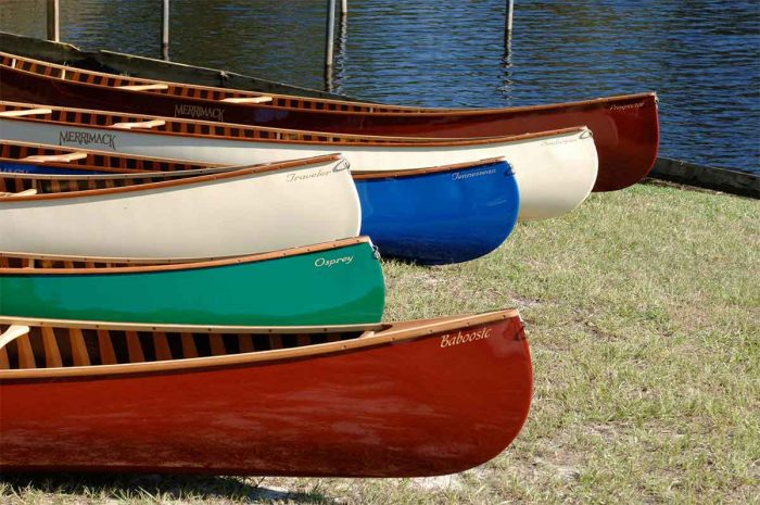 Sanborn canoes have a timeless look