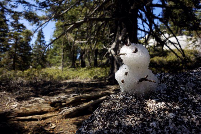 snowman cairne