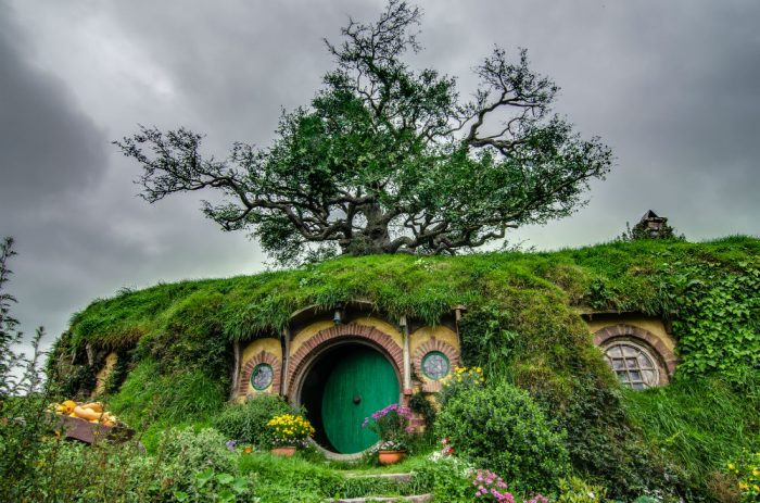The original tiny home - New Zealand's Bilbo Baggins house