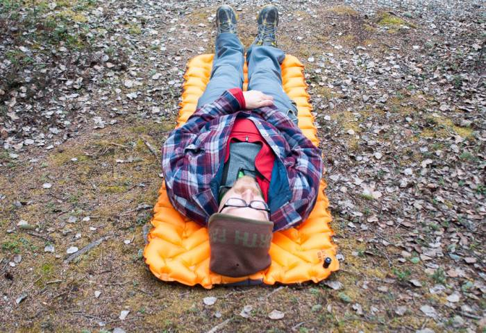 Light Warm Fairly Priced Klymit Sleeping Pad Hits Marks