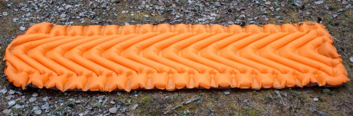 klymit static v lite sleeping pad