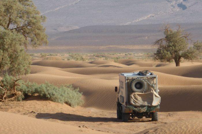 off road motorhome desert