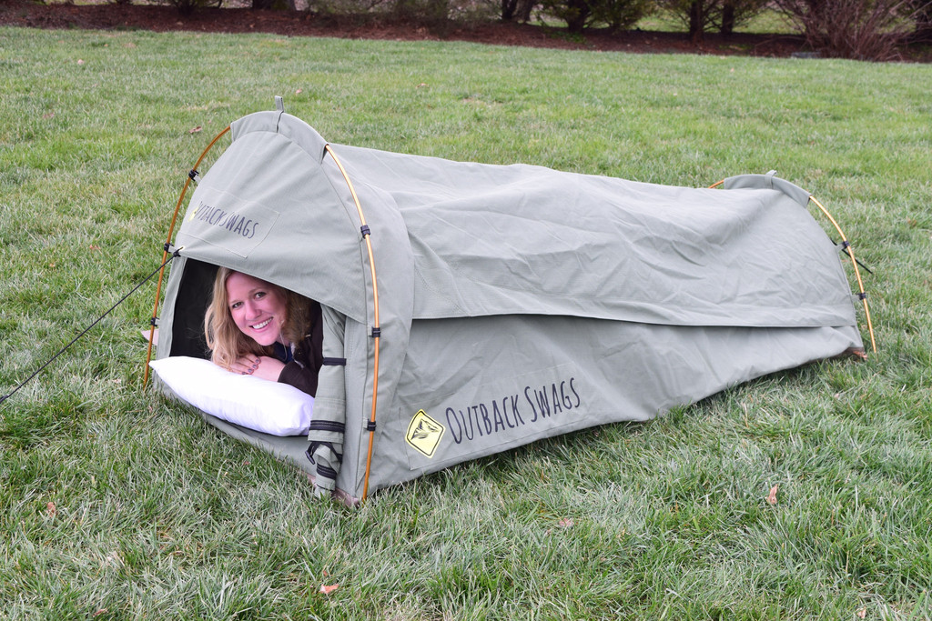 sc 1 st  GearJunkie & All-In-One: Australian u0027Swagu0027 Tents Hit U.S. Camping Market