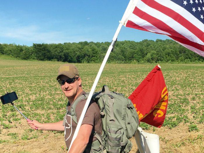 marines half flag