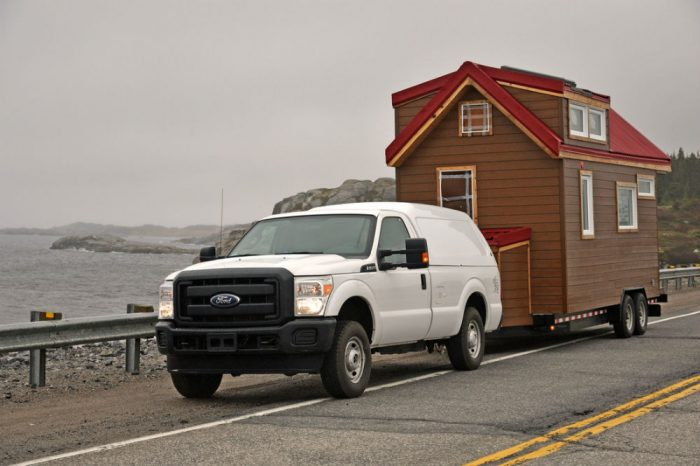 towing tiny home
