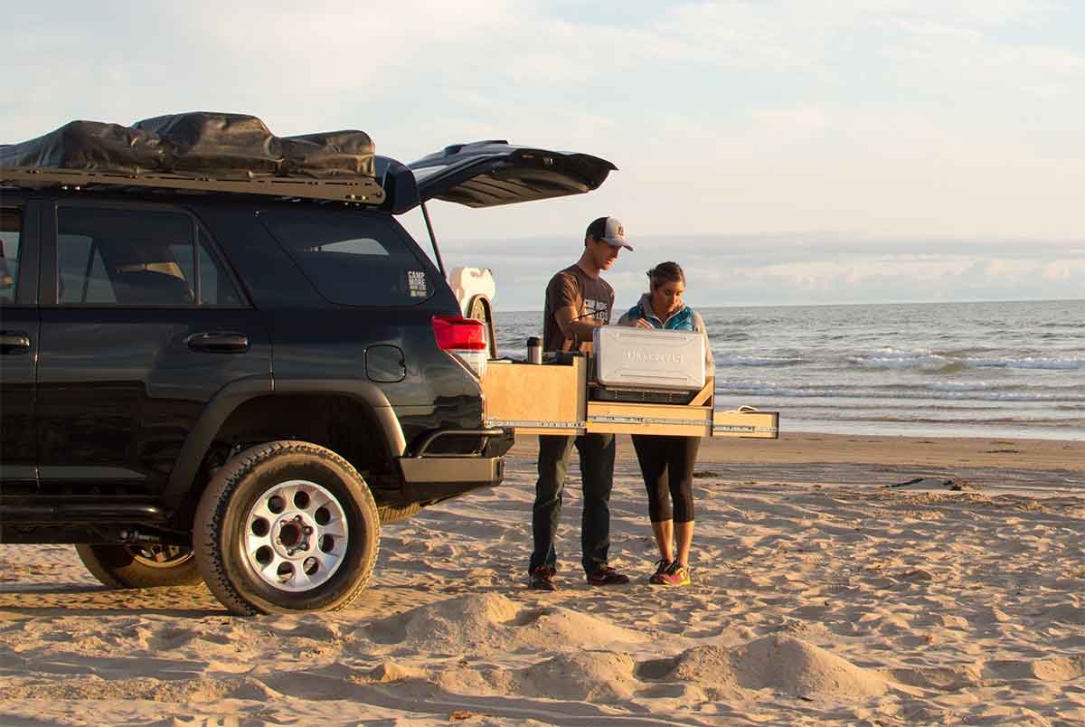 Slide-Out 'Truck Kitchen' For Overland Vehicles | GearJunkie