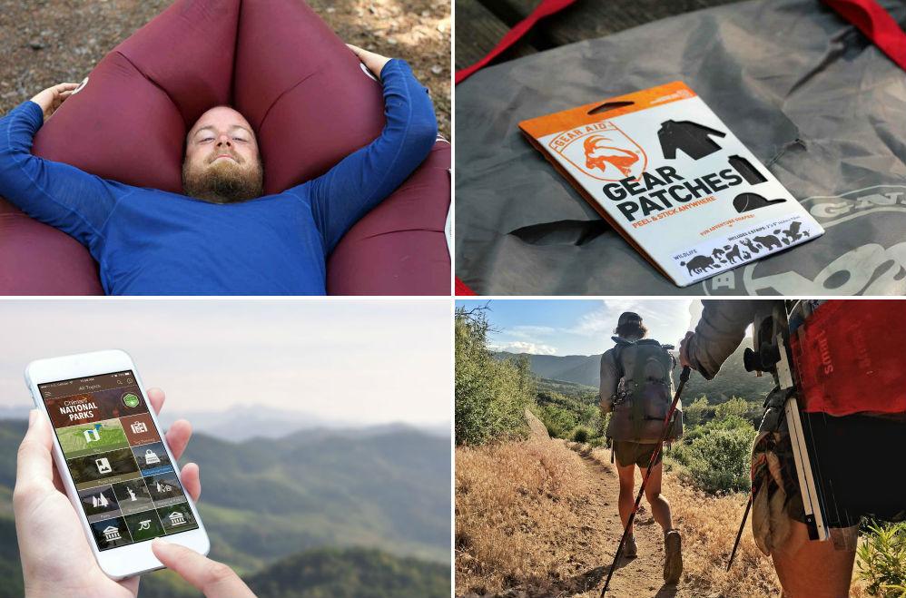 Bottled Air, Bear Spray Backpack, Glamping Pods